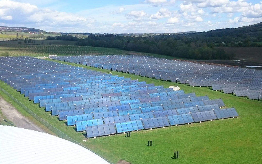 Profitable large scale solar heating in Norway