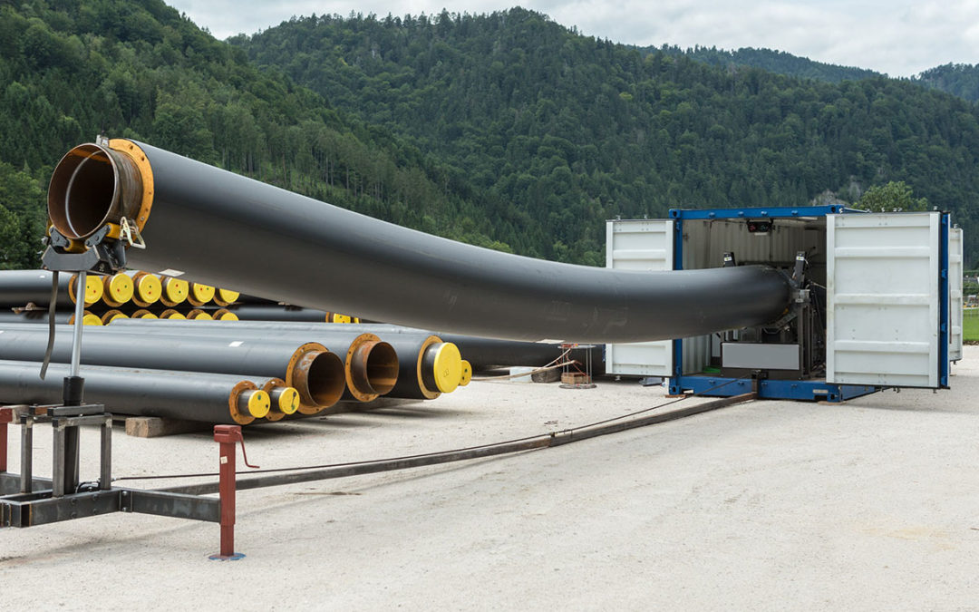 Innovative bending tool ensures quality of large-dimension piping systems