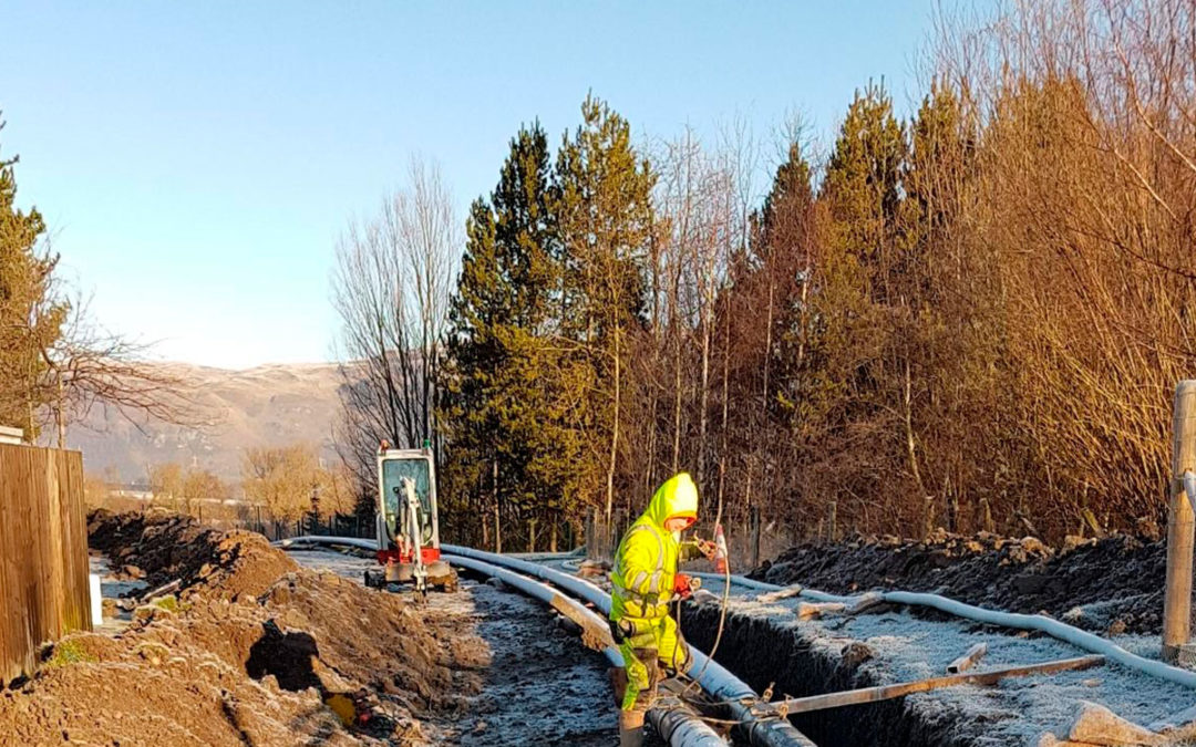 Pioneering renewables project in Stirling
