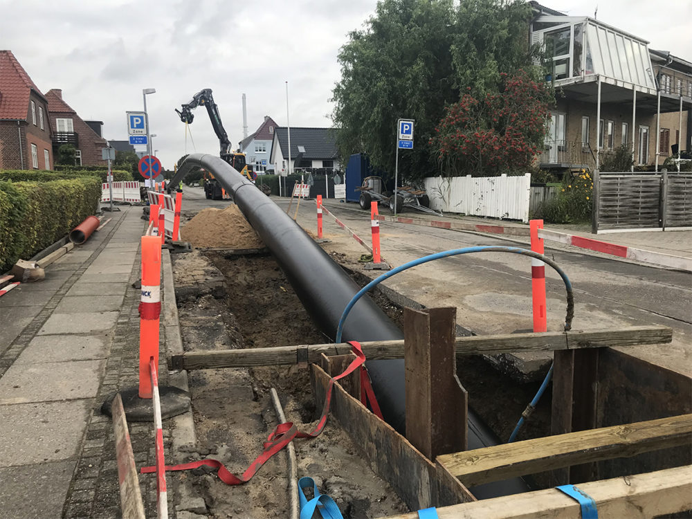 Trenchless technology to large project in Horsens